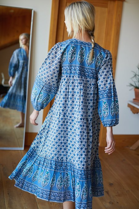 Emerson Fry Heirloom Dress - Indigo