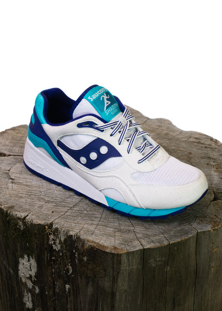 Saucony Shadow 6000 - White/Blue