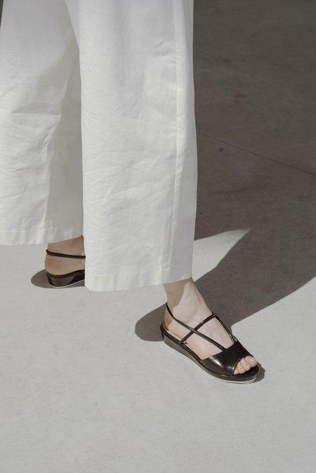 Anne Thomas Ginza Sandal - Black Koti