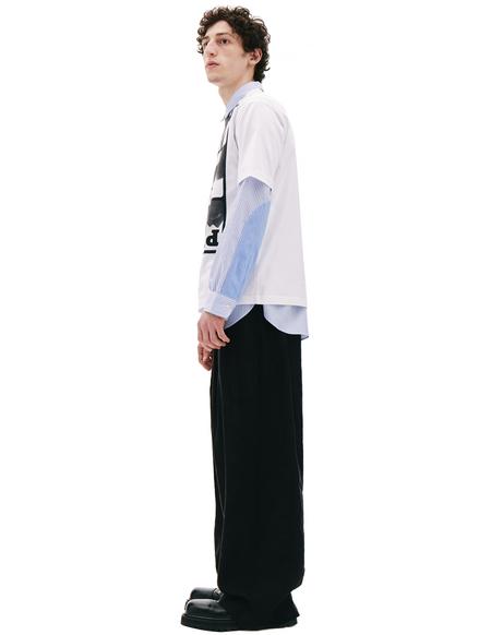 Junya Watanabe White Printed T-shirt