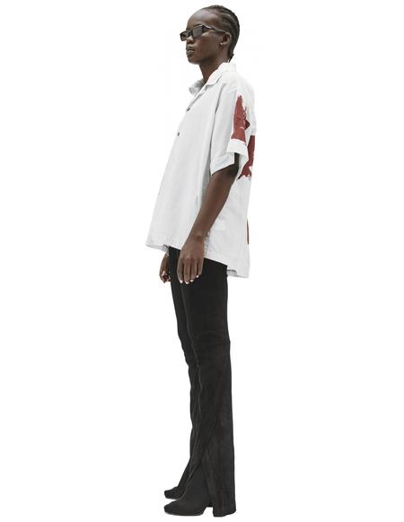Enfants Riches Deprimes Cotton & Linen Printed Shirt