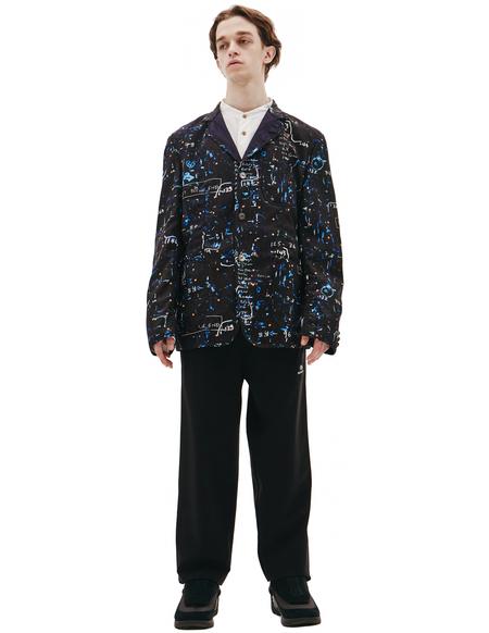 Junya Watanabe Black Wool Jacket