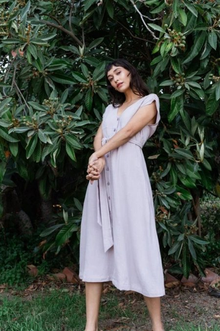 Vintage Gracemade Lily Dress - Lavender