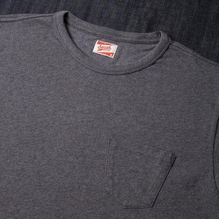 Benzak Denim Developers Pocket Tee - Dark Grey