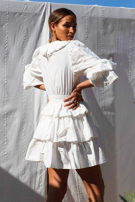 NEVER FULLY DRESSED Hallie Mini Dress