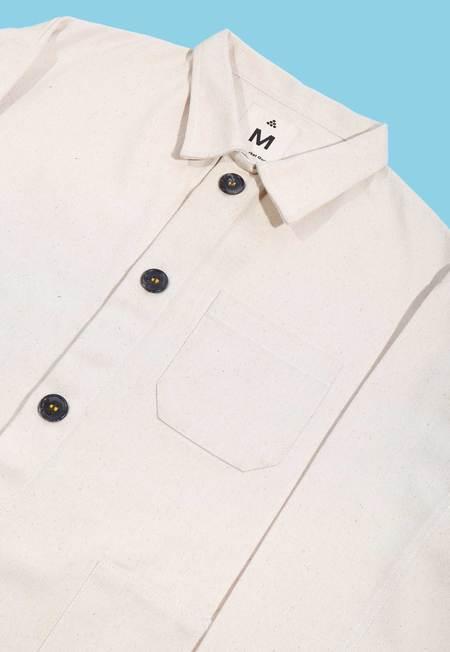 Deshal Denim Chore Jacket - WHITE