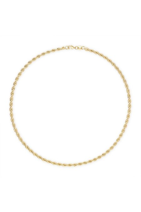 """Alexa Leigh 18"""" Rope Necklace - Gold"""