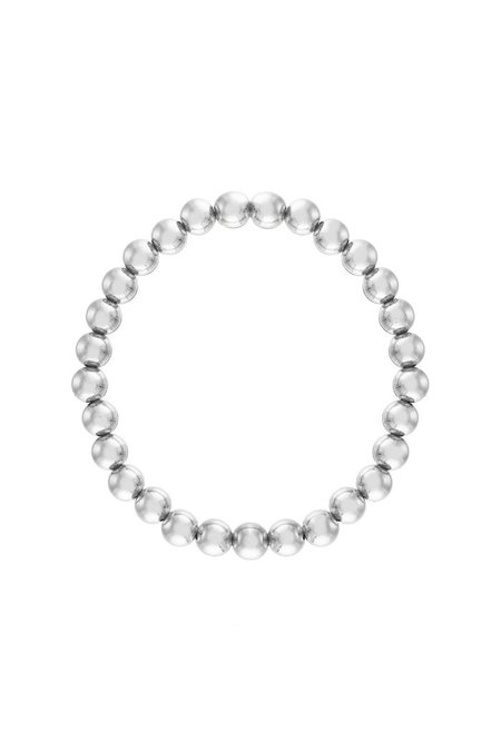 "Alexa Leigh  7.5"" 6mm Ball Bracelet - Sterling Silver"