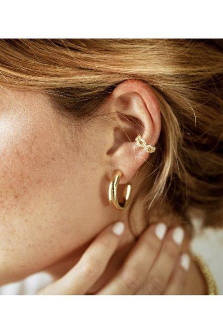 Alexa Leigh Everyday Hoop Earring - 14k Gold-Filled