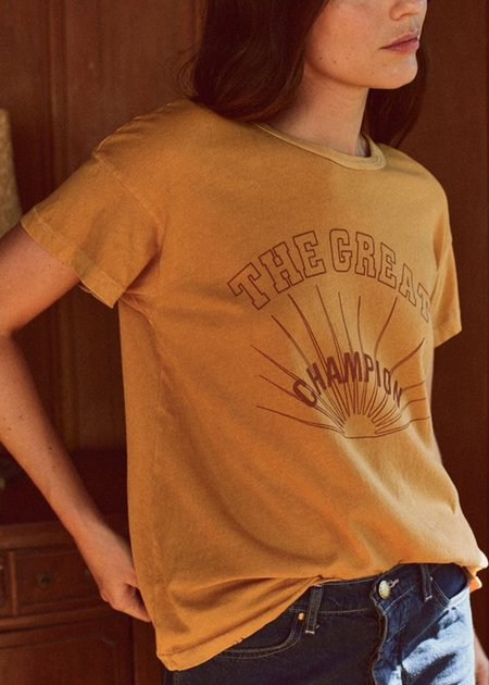 The Great. The Great Champion Tee - Honey