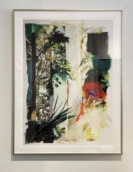 """Emily Johnson Understory Framed 34¾"""" x 46¼"""" art"""