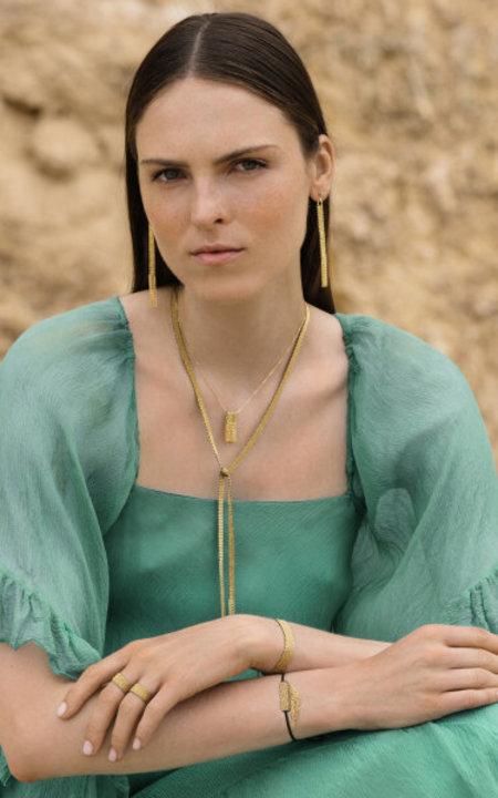 marie laure chamorel earring - sterling silver