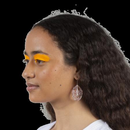 Maryam Nassir Zadeh Ellipse Earrings - Ice