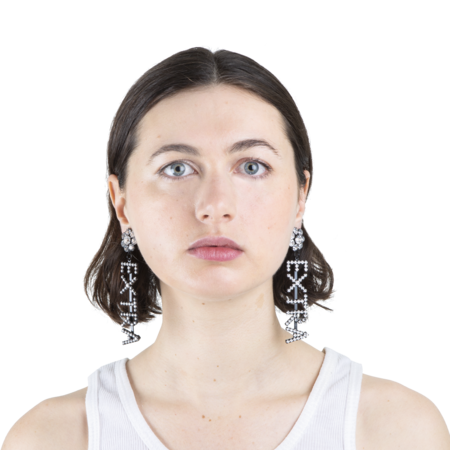Ashley Williams Extra Earrings - Clear