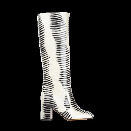 Maryam Nassir Zadeh Lune Boot - Zebra