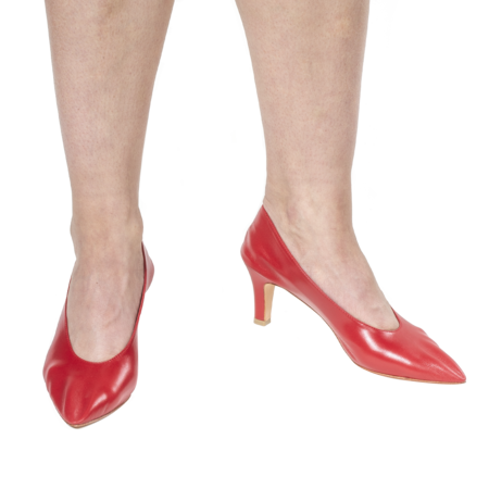 Martiniano Party Heel - Red