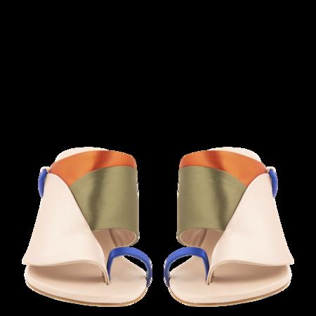 Esteban Cortazar Satin Detail High Heel Sandals - Multi