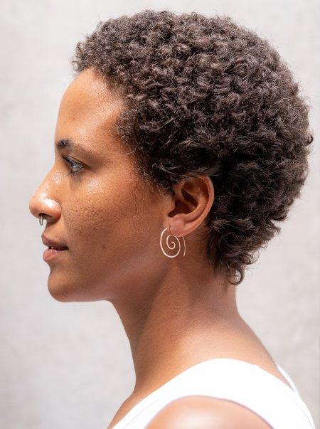 Fixed Air Spiral Earrings
