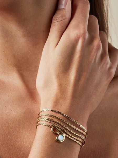 Jenny Bird Veaux 4-In-1 Wrap Necklace - 14K gold-dipped brass