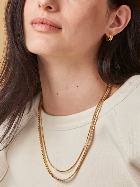 Jenny Bird Wallace Necklace - High Polish Gold