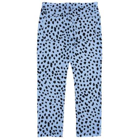 PLEASURES Dalmatian Jeans - Light Blue