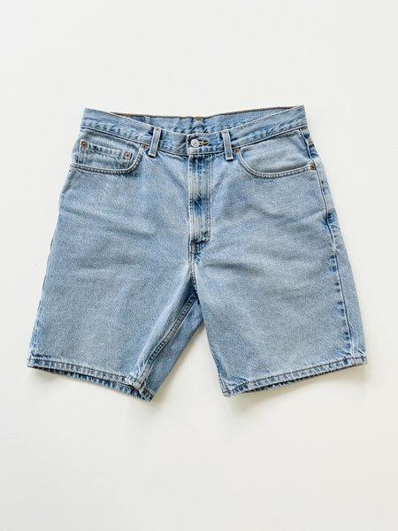 VINTAGE Levi's 550 Light Wash Denim Shorts - Blue