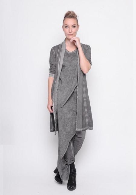 BLACK by K&M Asymmetric Layered Sleeveless Top