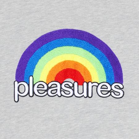 PLEASURES Good Time Hoodie - Gray