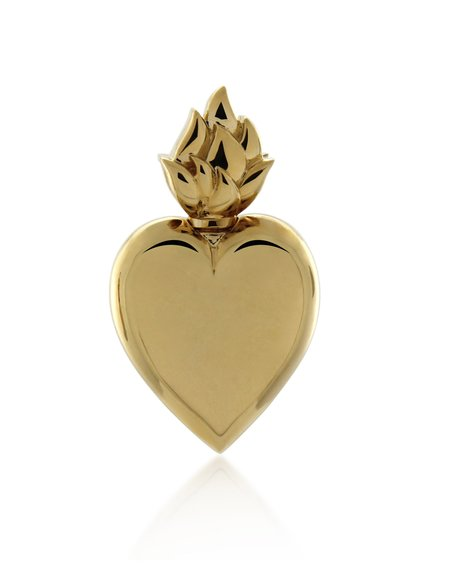 Mineraleir Rodin Heart Earring