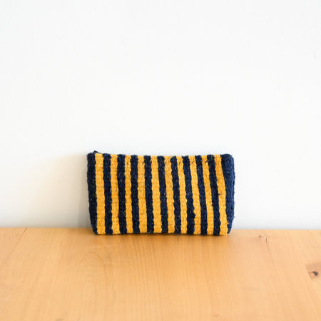 Made Solid Handwoven Mexican Zipper Case