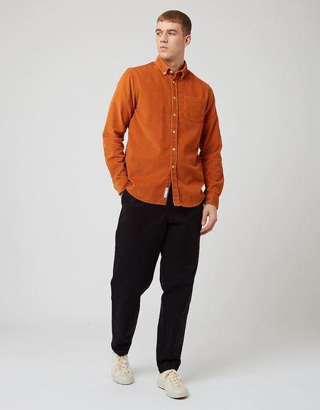 Bhode x Brisbane Moss Shirt - Harvest Gold
