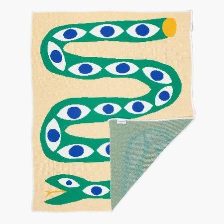 Slowdown Studio Snake Eyes Mini Blanket