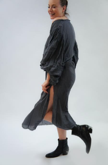 Jen's Pirate Booty Gossamer Maxi Dress - Jibarita Faded Black