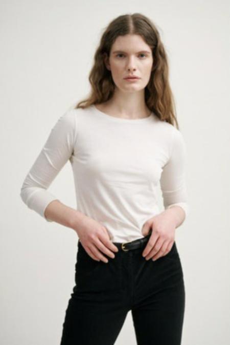 Nili Lotan Long Sleeve Shirt - Washed Black