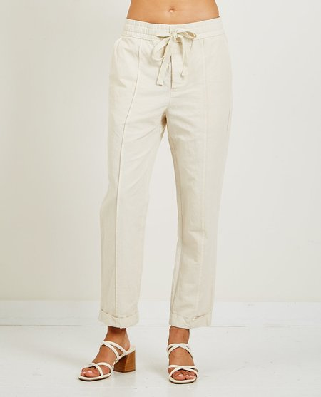 Alex Mill Sam Pull-On Pant - Natural