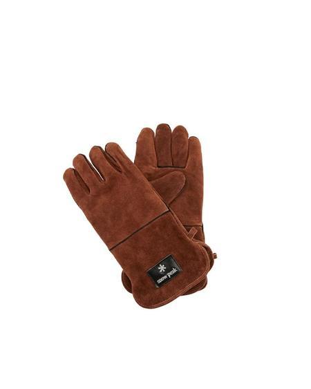 Snow Peak Fire Side Gloves - BROWN