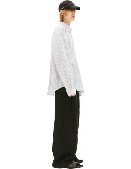 Balenciaga Oversize Striped Shirt