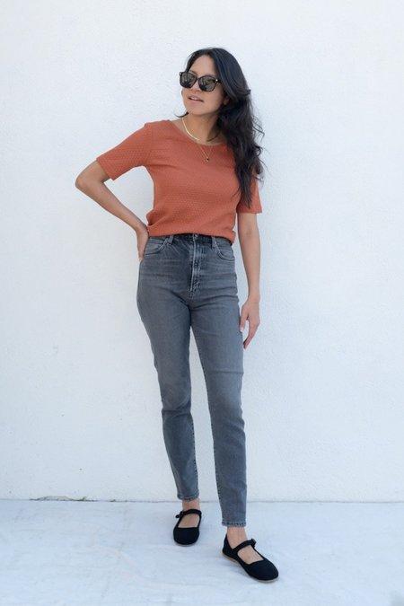 AGOLDE Pinch Waist Ultra High Rise Skinny Jeans- Interlude