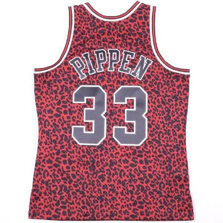Mitchell & Ness Wild Life Pippen Bulls Jersey