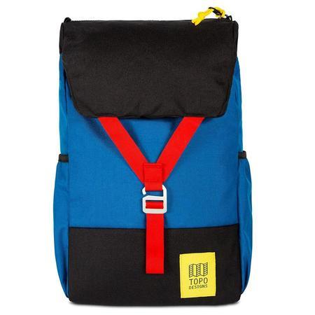 Topo Designs Y-Pack Backpack - Blue/Black