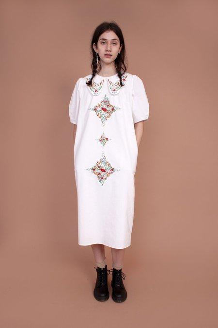 Meadows Hawthorn Dress - Multi Embroidery