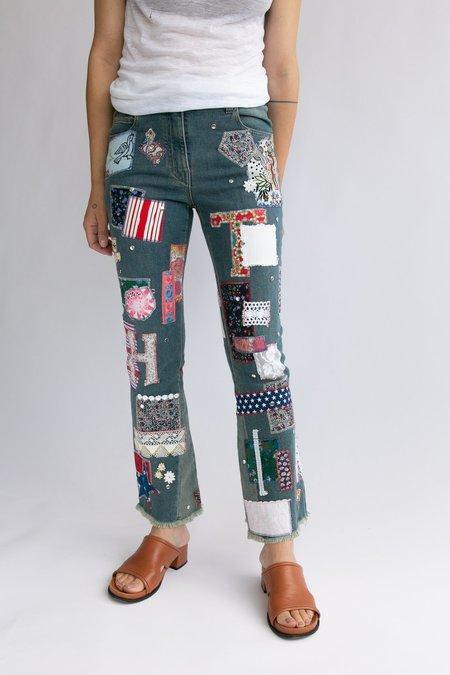 vintage Hilfiger Jeans - Patchwork