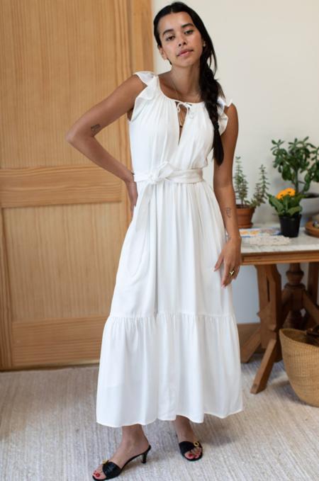 Emerson Fry Rakel Sleeveless Dress - White