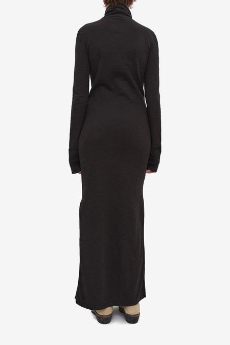 Our Legacy Full Turtleneck Dress - Asphalt Grey Layer Jersey