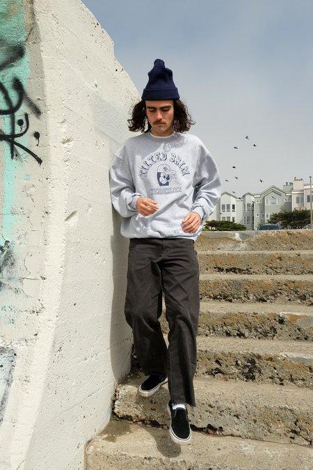 Tilted Brim TL Funky Seal Champion Crewneck Sweatshirt - Grey