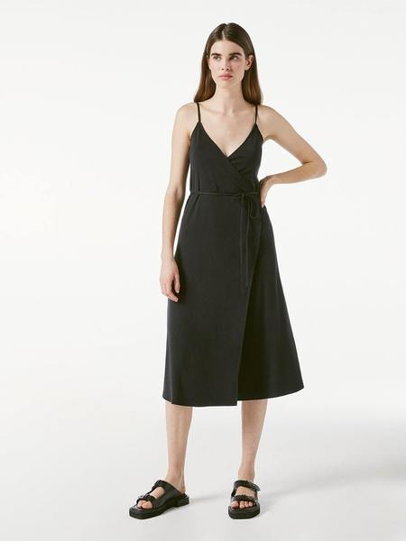FRAME Denim Morgan Knit Dress - BLACK