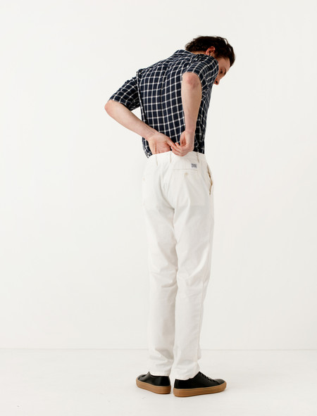 Norse Projects Aros Light Twill Ecru