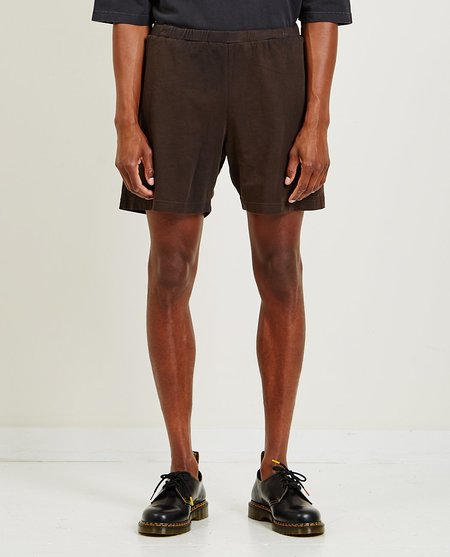 Willy Chavarria Gym Short - BLK CLAY