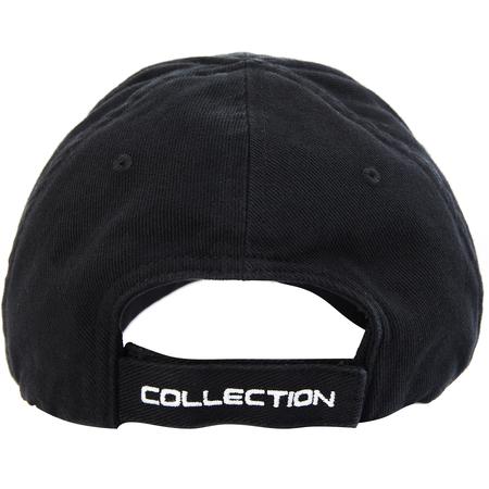 Balenciaga Black Embroidered PS5 Cap