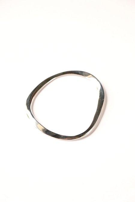 Faris Aero Bangle - Sterling Silver